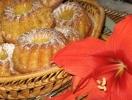 Апельсиновые кексы с курагой: фоторецепт