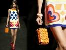 Платье с сердцами от Moschino