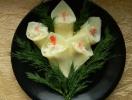 """Закуска """"Белые цветы"""""""