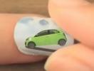 Первый в мире мультфильм на ногтях. ВИДЕО