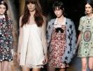 Тренд осени 2013: платья в стиле baby doll
