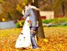Свадьба осенью: особенности