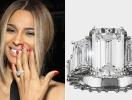 Сиара показала помолвочное кольцо