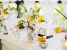 Идеи оформления свадебных столов