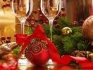 Украшение праздничного стола в год Синей Деревянной Лошади