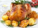Рецепты блюд на новогодний стол 2014: запеченная курица