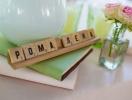 Scrabble в оформлении свадьбы