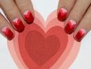 Маникюр на День Валентина 2015