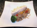 Фитнес-меню от поваров Fairmont Grand Hotel Kyiv: паровой лосось с гречневой лапшой