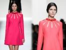Платье с вырезами Valentino