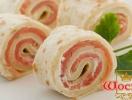 Рулет с семгой и кинзой: рецепт приготовления