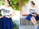 Маша Собко прорекламировала патриотичные футболки