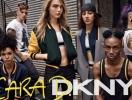 Делевинь опубликовала первые промокадры своей капсулы для DKNY