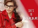 Ева Мендес представила осенне-зимнюю коллекцию очков Vogue Eyewear