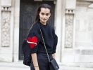 Неделя моды в Париже: street style, часть II