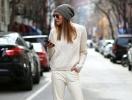 С чем носить вязаный свитер: 30 образов street style
