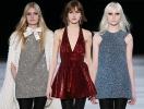 Блестящие мини-платья Saint Laurent