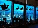 Новый год на окнах: 3 варианта декора