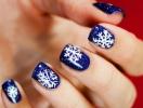 Как украсить ногти на Новый год