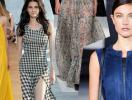 Что носить весной: модные платья 2015