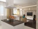 Как оформить квартиру-студию: 5 правил интерьера open-space