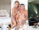 Семейный дом Кличко и Панеттьери: нежная спальня и музыкальная комната над гаражом