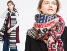 Модные аксессуары: платки и шарфы осень-зима 2015-2016