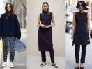 Вперед в прошлое: как носить платье поверх брюк