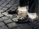 Street style: мех на улицах Недели мужской моды в Милане и Лондоне