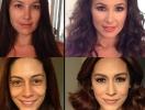 До и после макияжа: работы визажиста, которые стали примером удачного перевоплощения