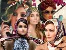 Как красиво завязать платок на голову: 11 советов