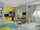 Квартира-студия: как зонировать пространство