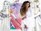 Свадебное платье для Регины Тодоренко. Спецпроект (эскизы+комментарии стилиста)