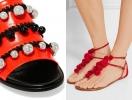 Самая красивая обувь лета: 30 пар модных босоножек, шлепанцев и сандалий