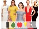 Как выбрать вечернее платье по типу фигуры: примеры удачных платьев Дженнифер Лопес, Сальмы Хайек, Шарлиз Терон, Гвинет Пэлтроу и Пенелопы Крус