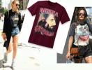 Тенденция: фанатские футболки из 90-х снова в моде