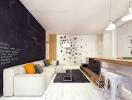 Грифельная доска в интерьере: классные идеи для спальни, кухни, детской и гостиной