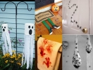 Идеи декора дома к Хэллоуину: жутчайшая обстановочка