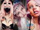 До ужаса страшный грим на Хэллоуин: блогер, которая вывела макияж на новый уровень