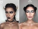 Гороскоп визажиста: девушка с помощью макияжа создала потрясающие образы для всех знаков Зодиака