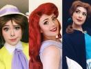 Как принцесса оказалась принцем: парень-визажист перевоплощается в известных диснеевских героинь