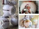 Декупаж елочных шаров своими руками: инструкция и сказочные фото