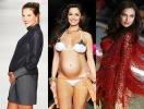 Дефиле в интересном положении: Ирина Шейк и другие беременные модели, которые смело выходили на подиум