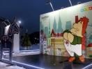 """На Почтовой площади открылся """"Новогодний европейский городок"""" с местом для селфи"""