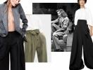 Модные брюки на весну и лето: как носить и где купить широкие брюки с защипами