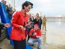 Даша Астафьева наполнила Днепр царской рыбой за 25 000 гривен (ФОТО)