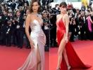 Сексуальный образ Беллы Хадид на Каннском кинофестивале-2017 снова войдет в историю: модель повторила свой прошлогодний успех