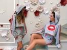 12-летняя дочь Анны Седоковой дебютировала в качестве модели (ФОТО)