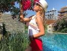 Ксения Бородина восхитила фигурой в бикини на отдыхе в Турции (ФОТО)