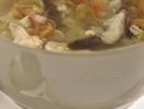 Рецепт постного блюда «Суп из китайской капусты и перловки»